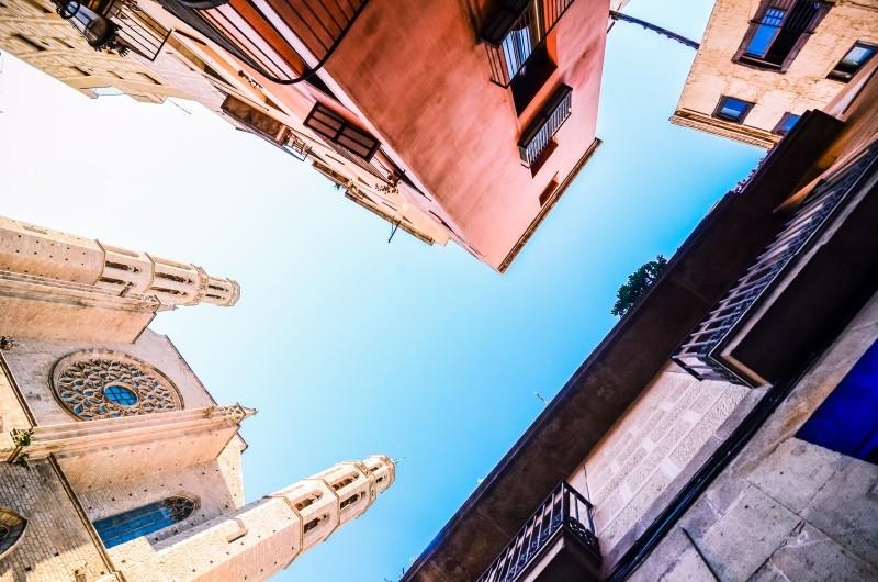 スペイン、カタルーニャ自治州の州都、バルセロナ
