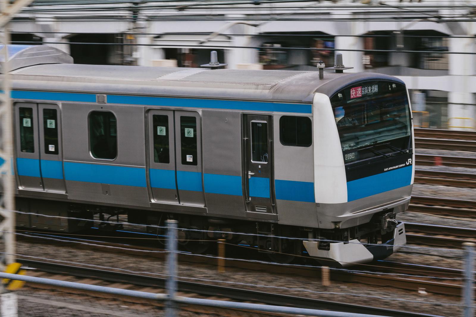 走行中の京浜東北線