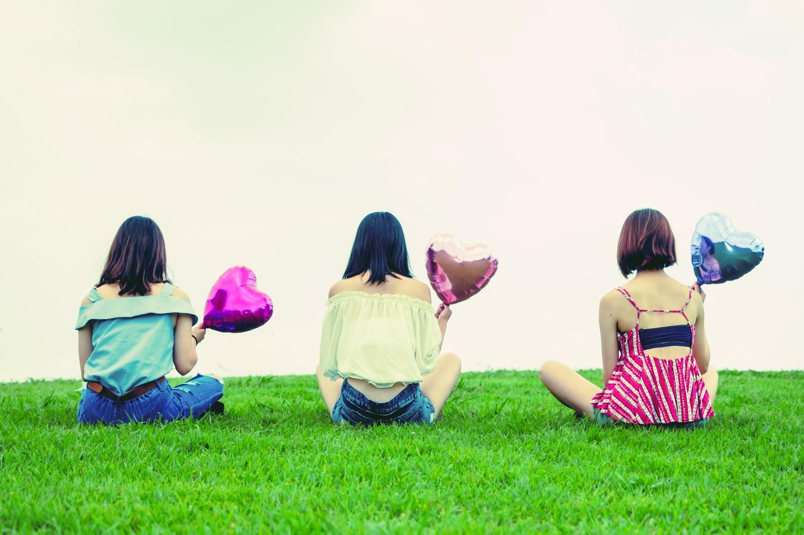 三人組の女の子