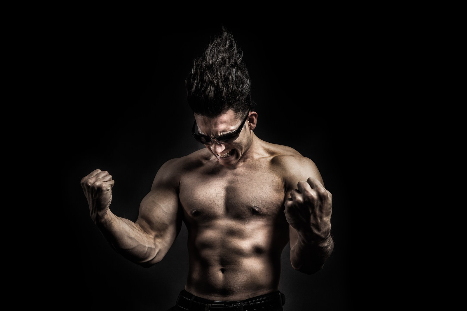 筋肉マッチョマン